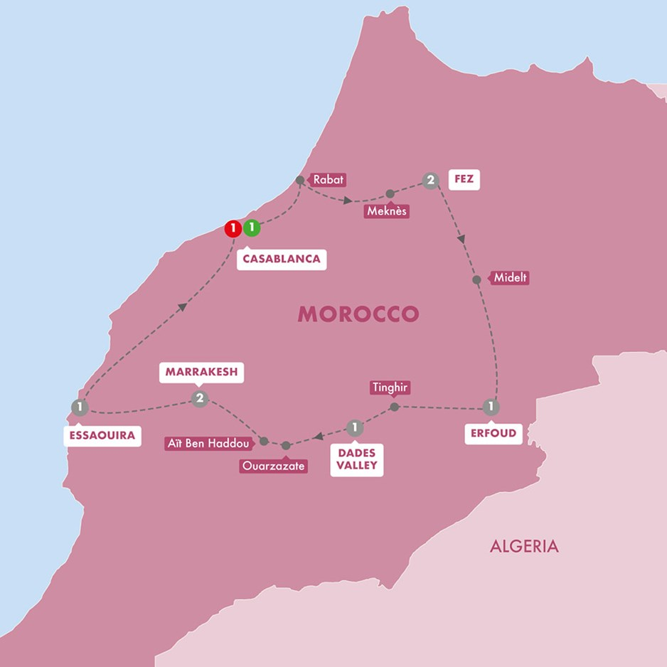 WMOR Best Of Morocco Winter Season Map New 20 Tt