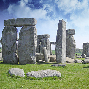 The famous Stonehenge