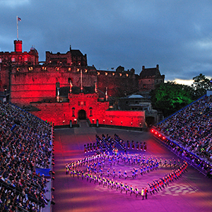 The Tattoo at Edinburgh Castle