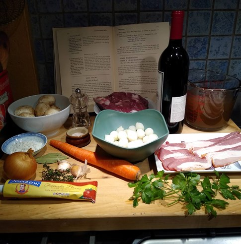 Beef Bourb Ingredients