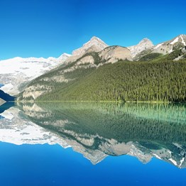 Panoramic Canadian Rockies with Alaska Cruise
