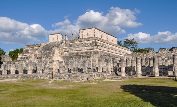 Temple of Warriors, Chichen Itza