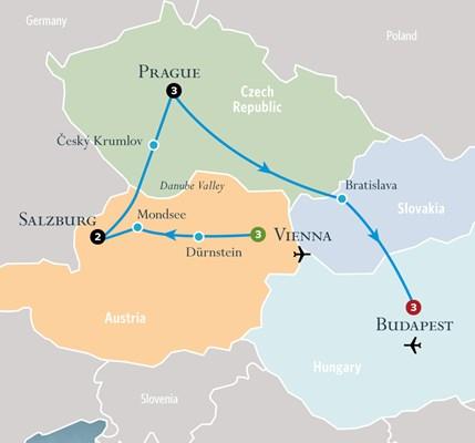 Prague Tour | Vienna Tour | Budapest Tour - Cosmos® Tours