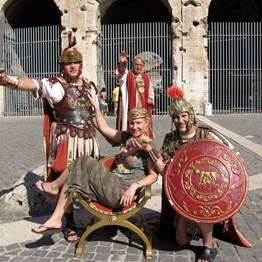 Gladiators, Gondolas & Gold
