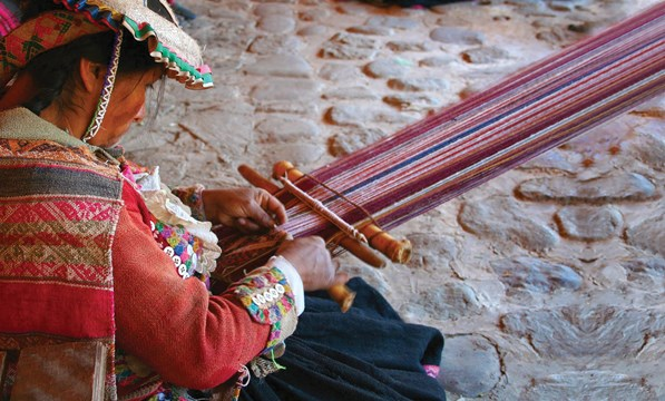 Traditional Weaving, Cusco