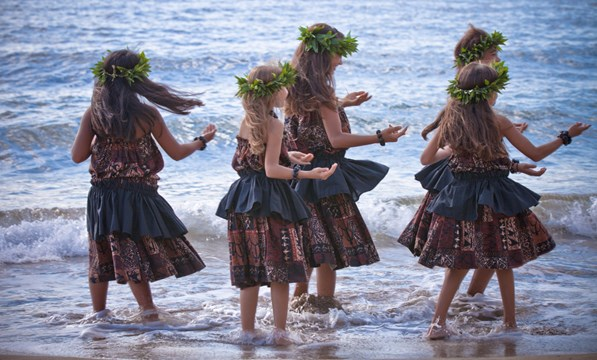 Traditional Dancers, Hawaii