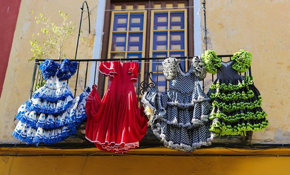 Seville, Flamenco Dresses