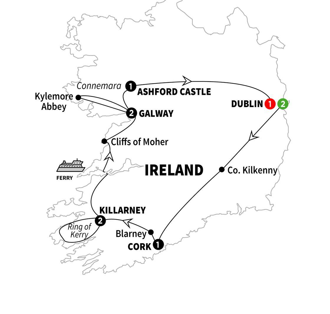 Iconic Ireland And Ashford Castle Tour Grand European Travel