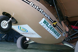 The Bathawk with TreadRight logo
