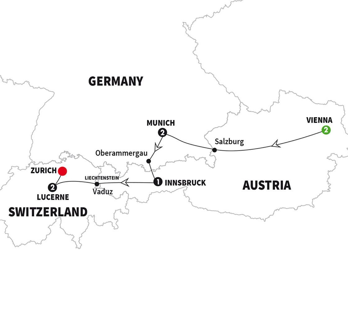 Christmas Markets of Austria, Germany & Switzerland Winter Tour ...