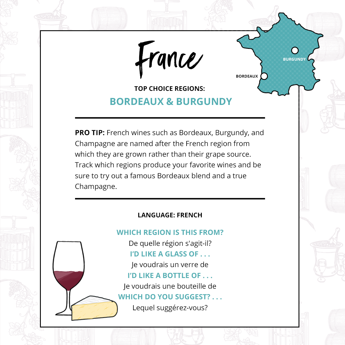 Wine Regions Of France And Their Grapes