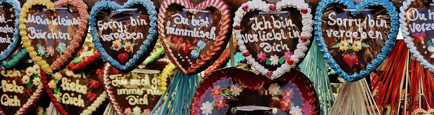 German Gingerbread Hearts Lebkuchenherzen Recipe Grand European