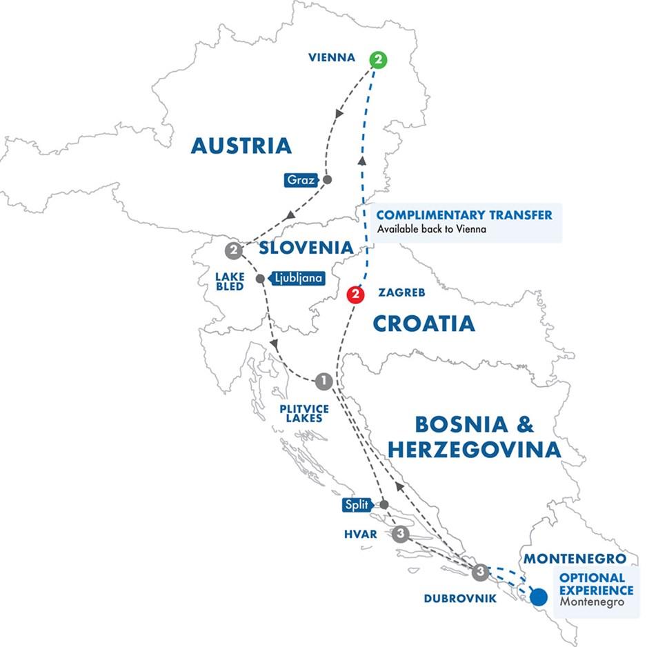 Highlights of Austria, Slovenia & Croatia Tour | Grand
