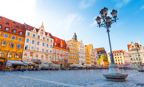 Wroclaw old town hall, Poland